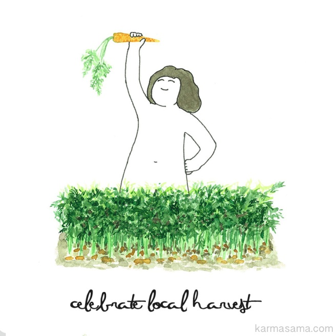 Celebrate local harvest