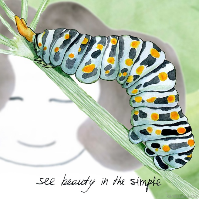 See beauty in the simple