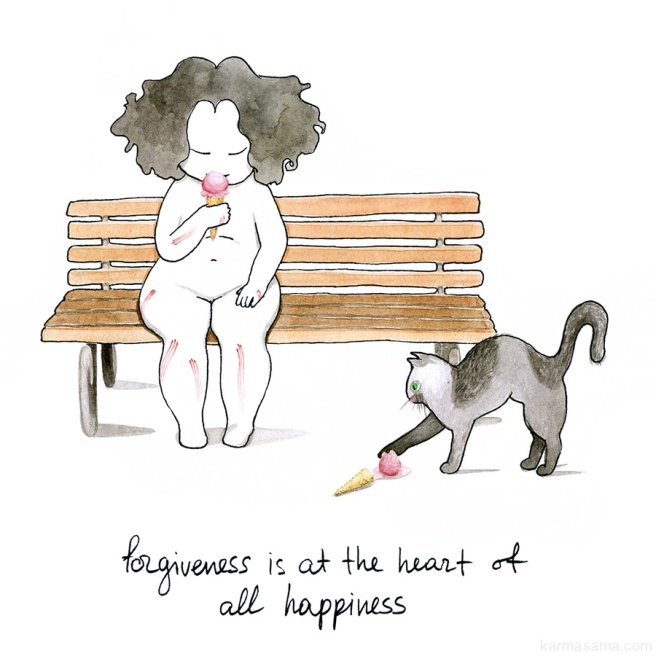 Forgiveness is at the heart of all happiness