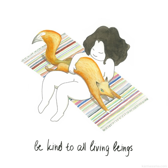 Be kind to all living beings