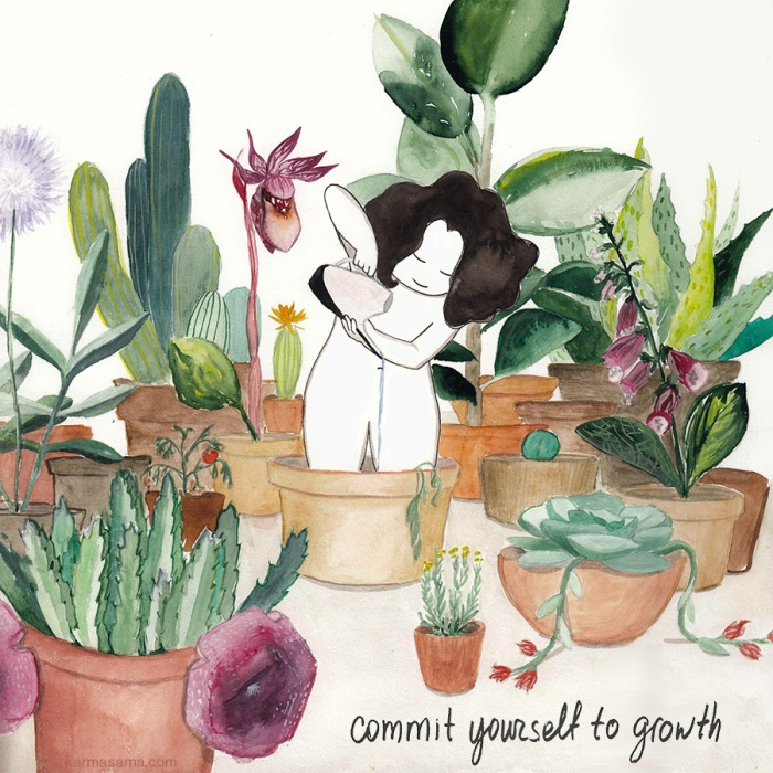 Commit yourself to growth