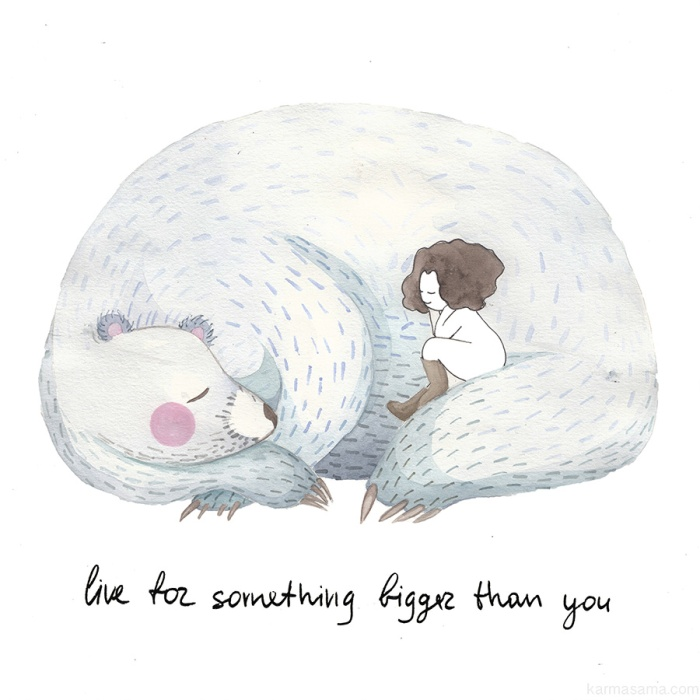 Live for something bigger than you