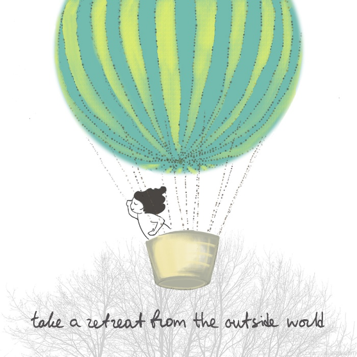 Take a retreat from the outside world