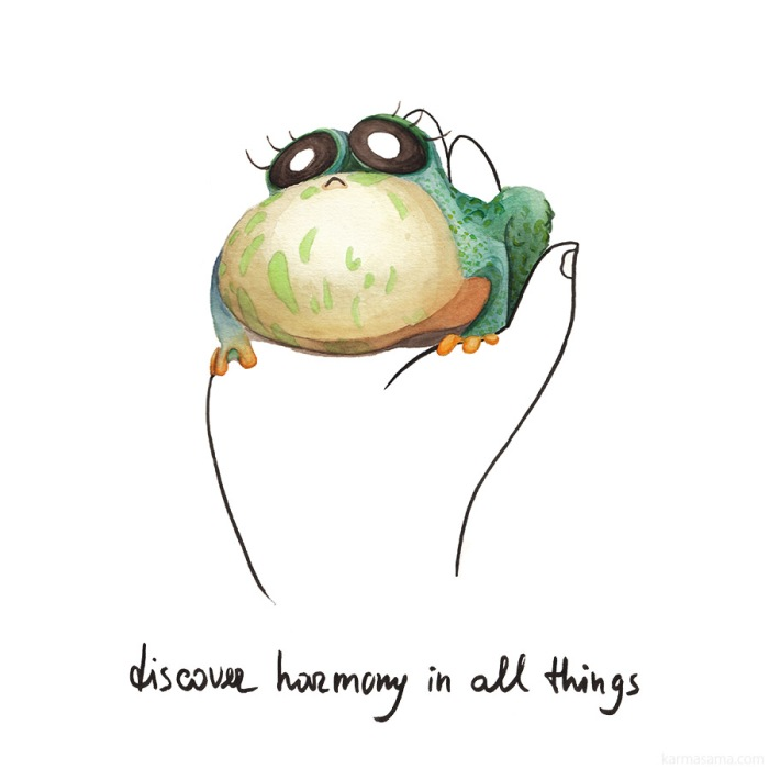 Discover harmony in all things :)
