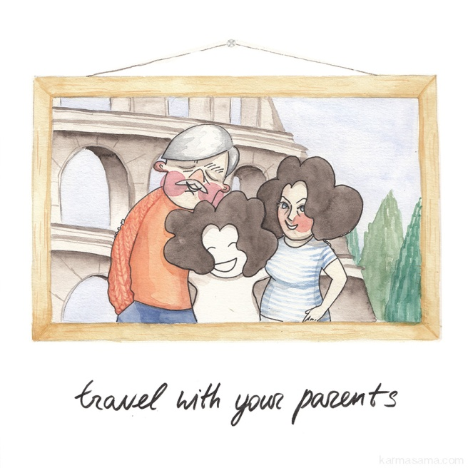 Travel with your parents