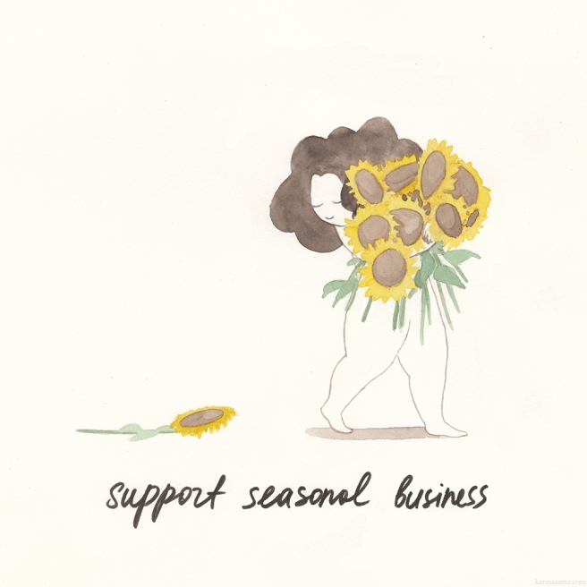 Support seasonal business