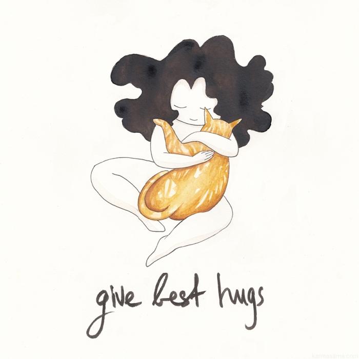 Give best hugs
